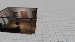 Raumgestaltung living in der Kategorie Esszimmer