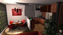 Raumgestaltung Loft-Etage in der Kategorie Esszimmer