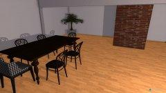 Raumgestaltung loft  in der Kategorie Esszimmer