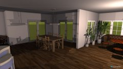 Raumgestaltung Malibu in der Kategorie Esszimmer