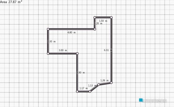 Raumgestaltung may sala in der Kategorie Esszimmer