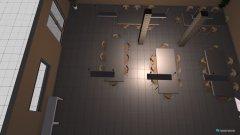 Raumgestaltung Mensa in der Kategorie Esszimmer