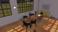 Raumgestaltung Miestnost na obrazy-kuchyna in der Kategorie Esszimmer