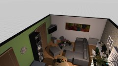 Raumgestaltung Milka 2 in der Kategorie Esszimmer