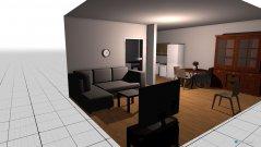 Raumgestaltung Mutti WZ in der Kategorie Esszimmer