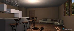 Raumgestaltung Nappali-konyha in der Kategorie Esszimmer