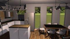 Raumgestaltung Nappali+konyha in der Kategorie Esszimmer