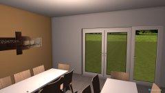 Raumgestaltung Neuer Partyraum  in der Kategorie Esszimmer