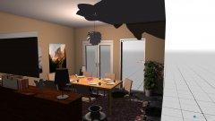 Raumgestaltung penthouse-eßzimmer in der Kategorie Esszimmer