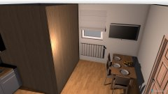 Raumgestaltung Pokoj kuchnia łazienka salon in der Kategorie Esszimmer