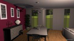 Raumgestaltung proyecto 4 in der Kategorie Esszimmer