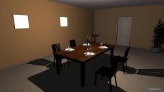 Raumgestaltung room dining in der Kategorie Esszimmer