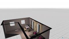 Raumgestaltung salon z kuchnia in der Kategorie Esszimmer