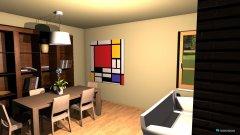 Raumgestaltung salotto2 in der Kategorie Esszimmer