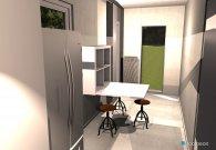 Raumgestaltung soggiorno in der Kategorie Esszimmer