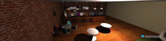 Raumgestaltung Sweet Cuppa Coffee Shop in der Kategorie Esszimmer
