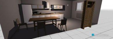 Raumgestaltung virtuve in der Kategorie Esszimmer