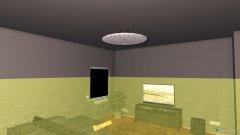 Raumgestaltung wohn-ess-bereich in der Kategorie Esszimmer