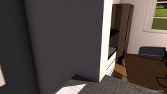 Raumgestaltung Wohn+Ess+Küche in der Kategorie Esszimmer