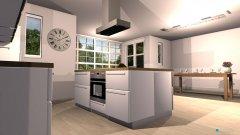 Raumgestaltung Wohn Ess Zimmer in der Kategorie Esszimmer