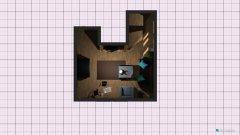 Raumgestaltung Wohn Ess in der Kategorie Esszimmer