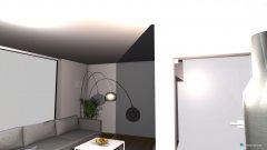 Raumgestaltung Wohn Essbereich in der Kategorie Esszimmer