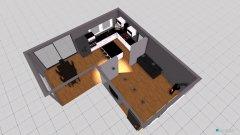 Raumgestaltung Wohn-, Esszimmer, Küche unten in der Kategorie Esszimmer