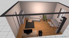 Raumgestaltung Wohn Esszimmer Miriam in der Kategorie Esszimmer