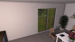 Raumgestaltung Wohn-Esszimmer in der Kategorie Esszimmer