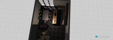 Raumgestaltung Wohn.Esszimmer in der Kategorie Esszimmer