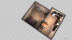 Raumgestaltung wohn und ess bereich onkel franz in der Kategorie Esszimmer