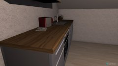 Raumgestaltung Wohn- und Esszimmer in der Kategorie Esszimmer