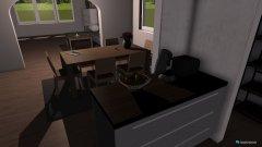 Raumgestaltung Wohnbereich in der Kategorie Esszimmer