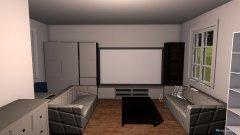 Raumgestaltung Wohnen+Essen V3 in der Kategorie Esszimmer