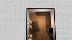 Raumgestaltung wohnen und kueche in der Kategorie Esszimmer