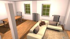 Raumgestaltung wohnesszimmer genau in der Kategorie Esszimmer