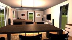 Raumgestaltung WohnEsszimmer_2015_04_18__ in der Kategorie Esszimmer