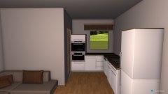 Raumgestaltung Wohnküche 2.0 in der Kategorie Esszimmer