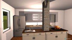 Raumgestaltung Wohnküche 2019 in der Kategorie Esszimmer