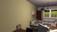Raumgestaltung Wohnküche 2 in der Kategorie Esszimmer