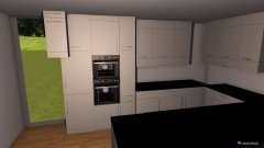 Raumgestaltung Wohnküche III Küchenplanung in der Kategorie Esszimmer