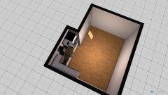 Raumgestaltung Wohnküche in der Kategorie Esszimmer