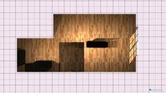 Raumgestaltung WohnKücheEssbereich in der Kategorie Esszimmer