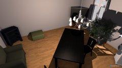 Raumgestaltung Wohnstube in der Kategorie Esszimmer