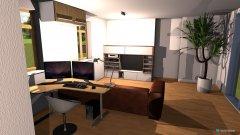 Raumgestaltung Wohnung Küche in der Kategorie Esszimmer