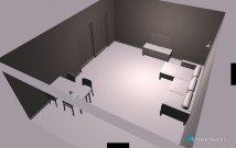 Raumgestaltung Wohnung KÜWZ in der Kategorie Esszimmer
