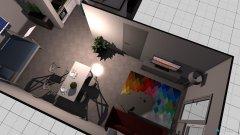 Raumgestaltung Wohnung Mitte 1. OG in der Kategorie Esszimmer