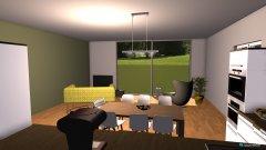 Raumgestaltung Wohnung Richi und Vreini 2 in der Kategorie Esszimmer