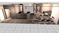 Raumgestaltung Wohnung  in der Kategorie Esszimmer