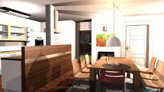 Raumgestaltung Wohnung_7 in der Kategorie Esszimmer